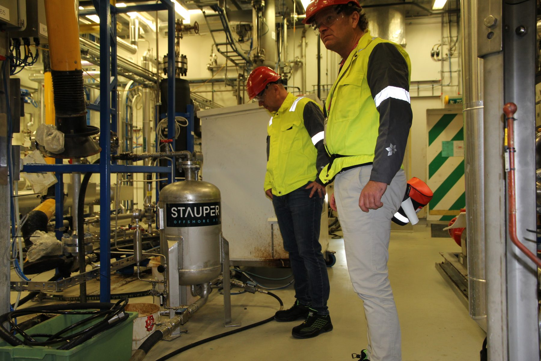 Leading operator completes an extensive test program of Stauper CFU