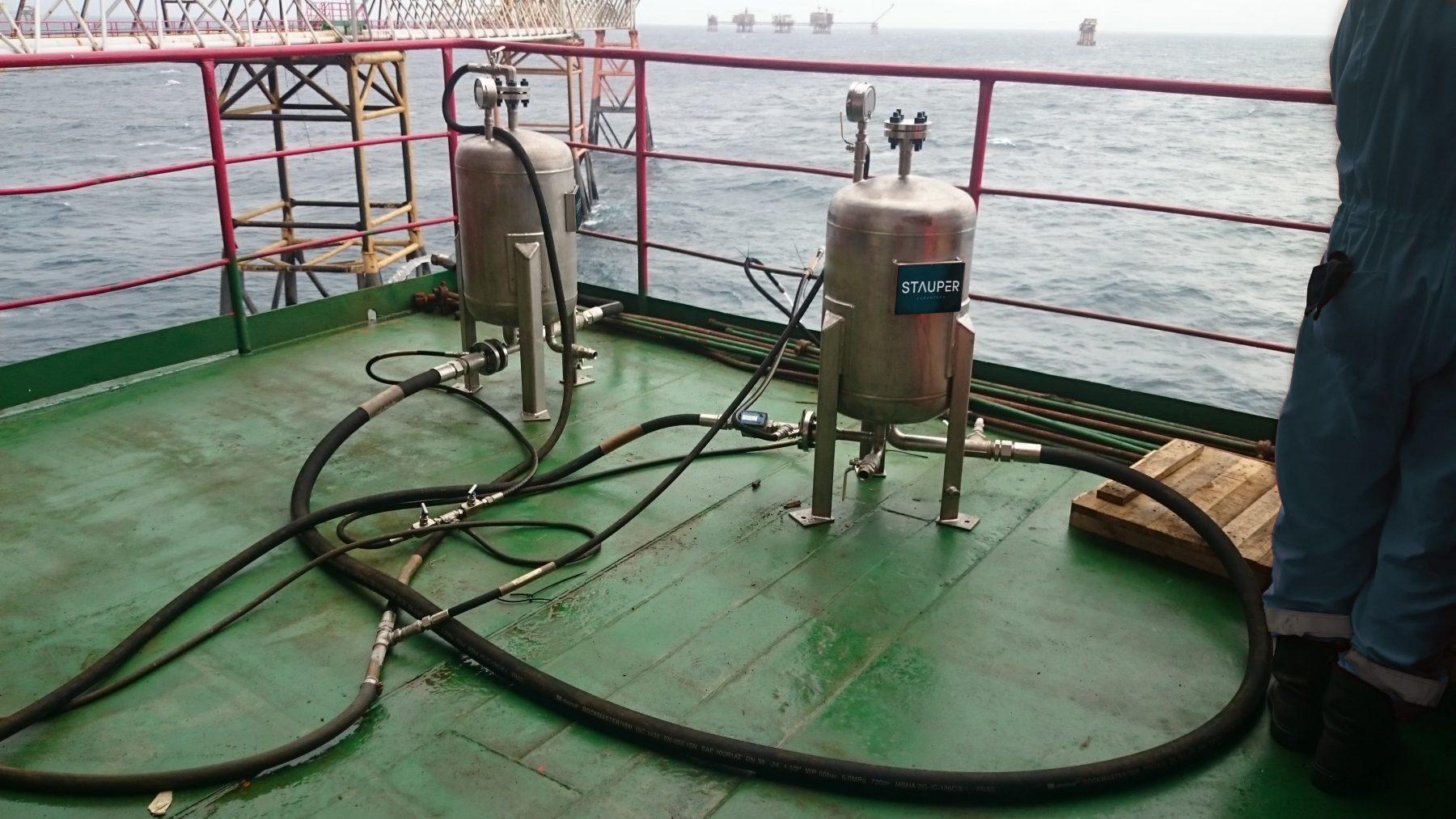 December 2016 Offshore test Vietnam, VietSovPetro, Central Processing Platform 2