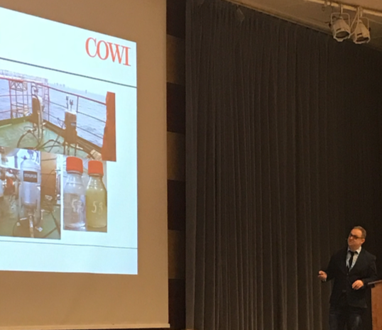 January 2018 Findings and conclusions from test at Statoil Grane, presented by COWI at Tekna´s Produced Water Management event in Stavanger