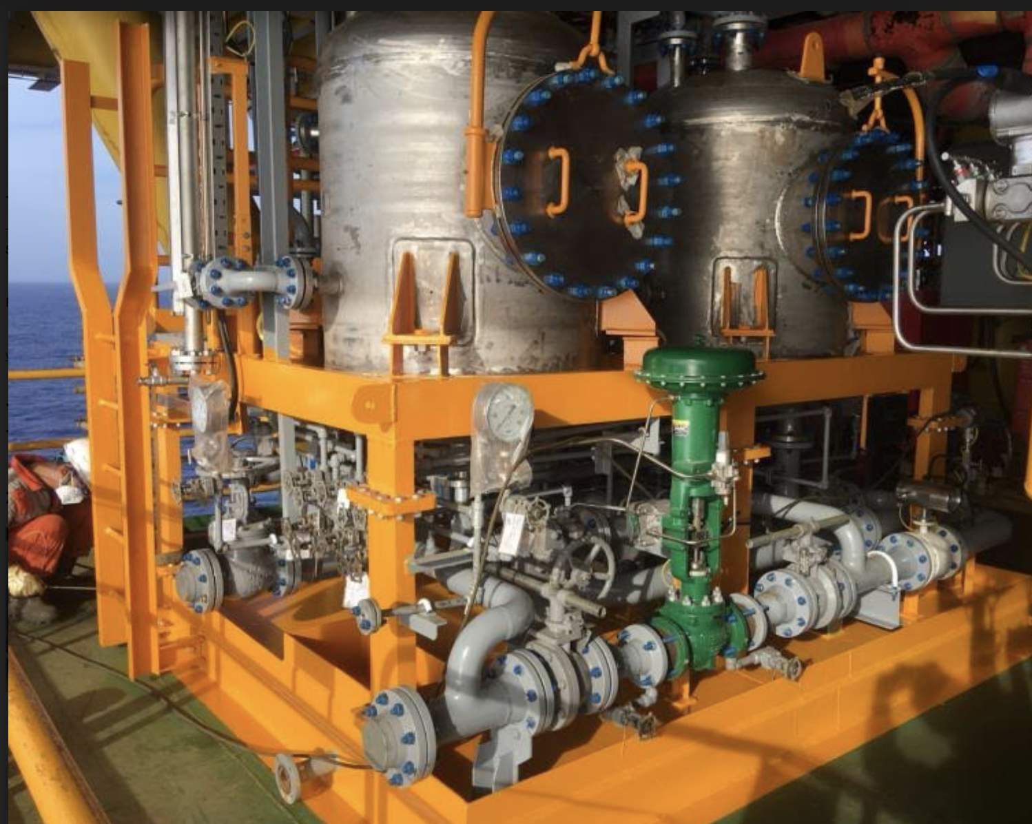 August 2018: First commercial CFU installed at CNOOC FPSO
