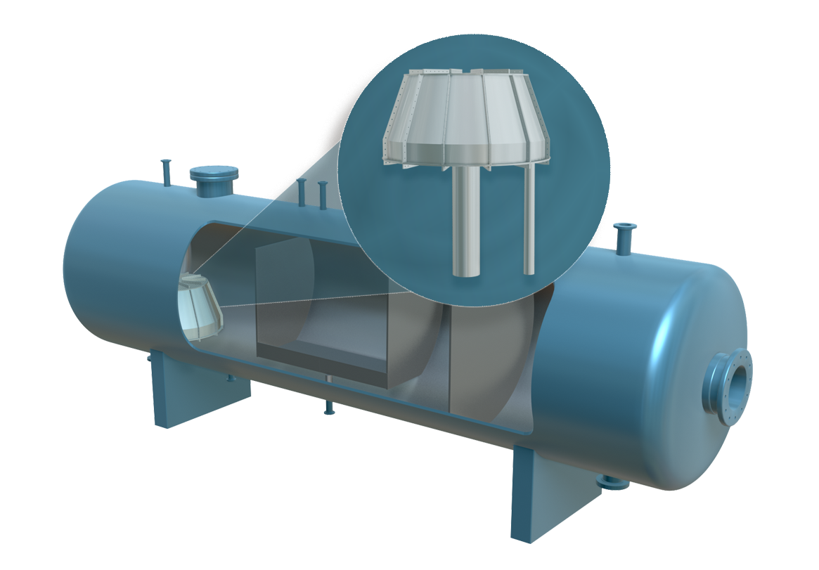 Stauper awarded patent for upgrade and retrofit of produced water treatment vessels